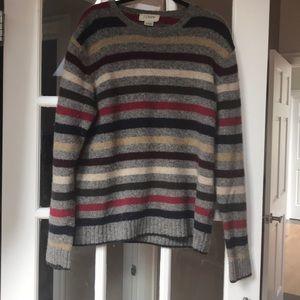 Striped lambswool Sweater - J Crew